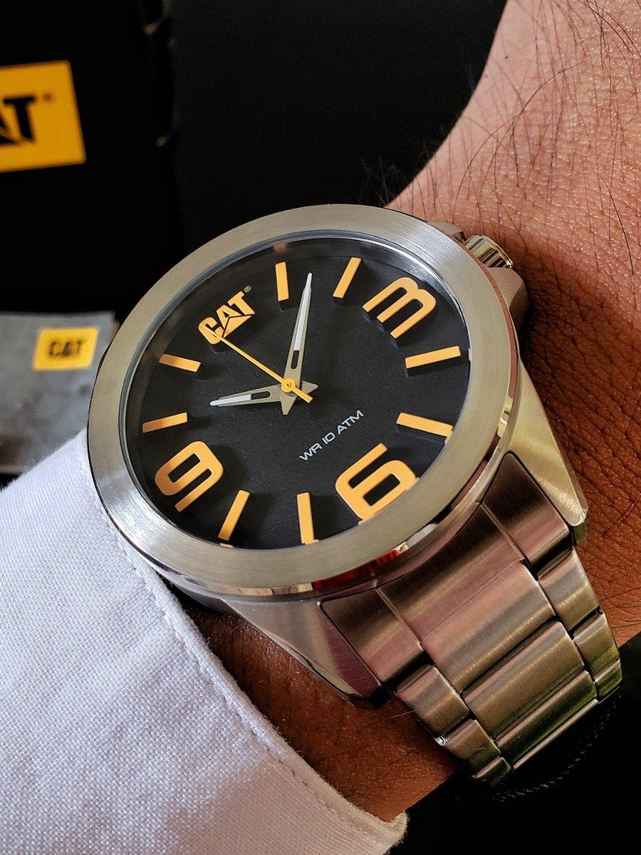 af52f7d039d0 reloj caterpillar cat caballero acero inoxidable original. Cargando zoom.
