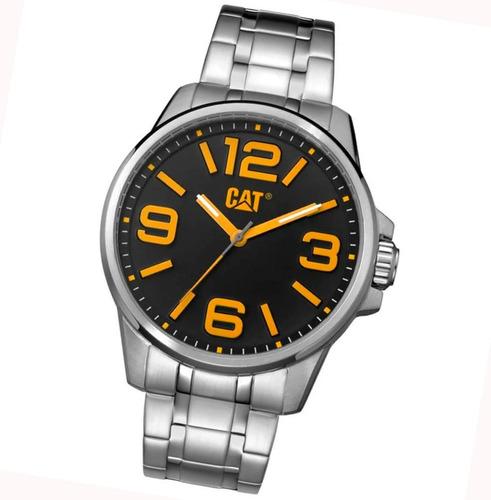 reloj caterpillar cat hampton nl14111137 100% acero 10 bar envio gratis watch fan locales palermo saavedra