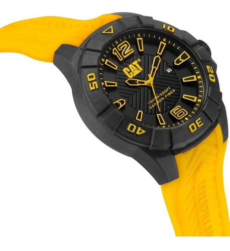 reloj caterpillar cat karbon k1 sumergible fecha