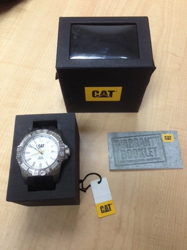 reloj caterpillar cat modelo a414121222 original nuevo