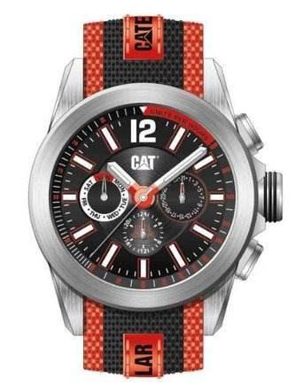 reloj caterpillar rojo