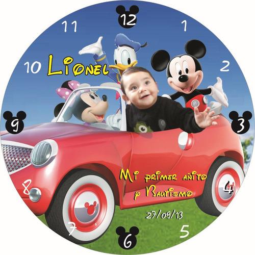 reloj cd souvenirs cumples, 15, bodas , agasajos