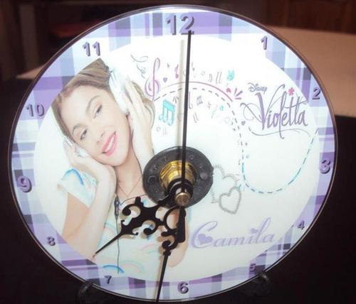 reloj cd souvenirs cumples, 15, bodas , c/pilas,y atril