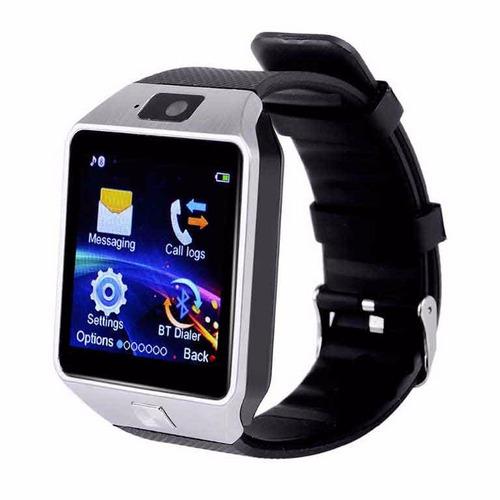 reloj celular dz09 smartwatch  español sim activo touch mf
