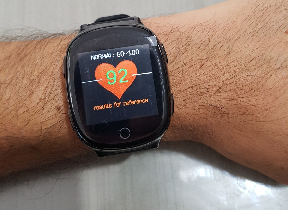 Reloj Celular Gps Para Adultos Gps Rastrea Pulso Cardiaco ...