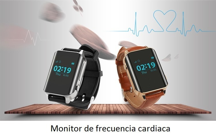 Reloj Celular Gps Para Adultos Rastrea Mide Pulso Cardiaco ...