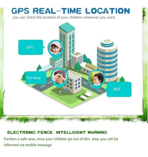 reloj celular rastreador / localizador gps para niños
