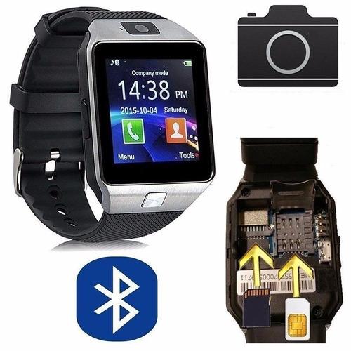 reloj celular smart watch chip camara gratis regalo