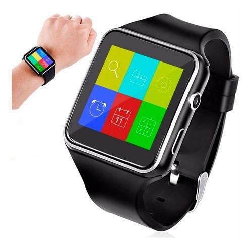 reloj celular smart watch x6 cámara bluetooth a1 gt08 u8 y1