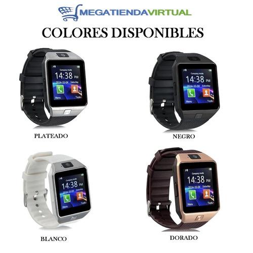 reloj celular smartwach camara chip bluetooth envio gratis
