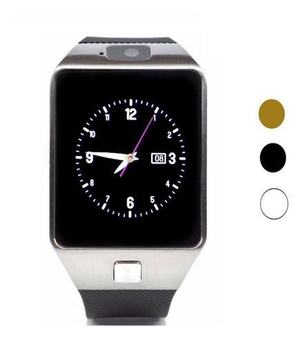 reloj celular smartwatch dz09 bluetooth cámara ranura sim