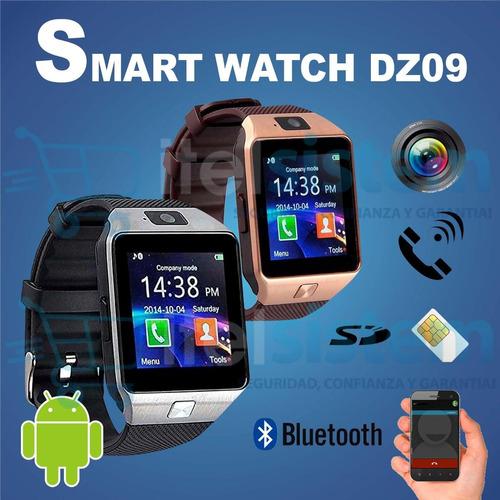 reloj celular smartwatch dz09 camara chip llamada itelsistem
