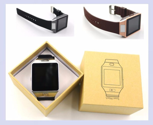 reloj celular smartwatch dz09 envío gratis de 3 en adelante