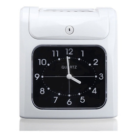 Reloj Checador Analogo Manual Empleados Y Estacionamientos