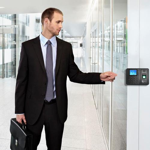 reloj checador digital huella biometrico no usa software usb