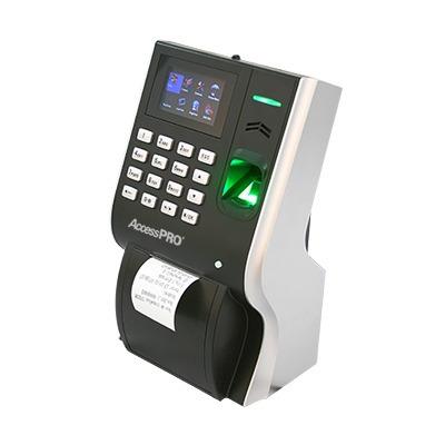 reloj checador huella digital con impresora 3000 usuarios