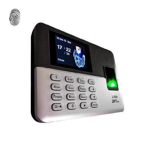 reloj checador huella digital usb control asistencia.,