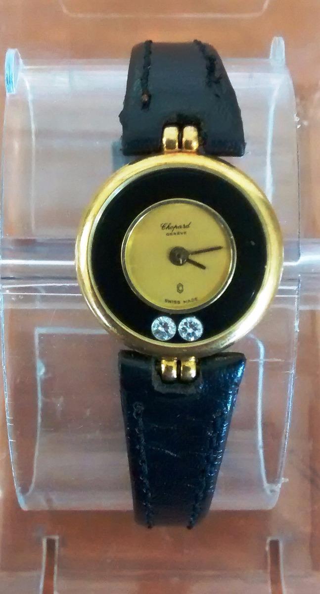 aa6e6f2ce0ca reloj chopard happy diamonds dama oro 18 kt. brill. Cargando zoom.