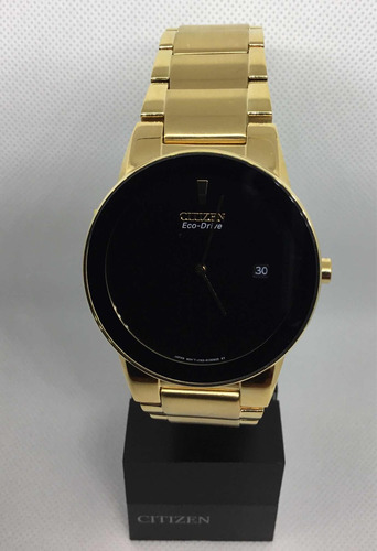 reloj citizen 60489 au1062-56e eco-drive hombre *watchsalas*