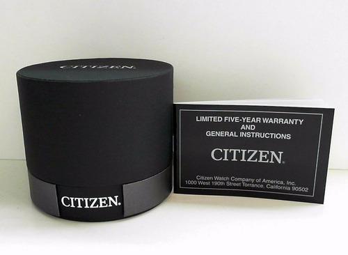 reloj citizen 61095 eco-drive bv1112-56 hombre dorado