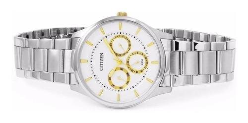 reloj citizen ag8351 acero sumergible promo 30%