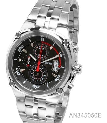 reloj citizen an345050e cronografo 100% acero  cristal 10 atm envio gratis watch fan locales palermo saavedra