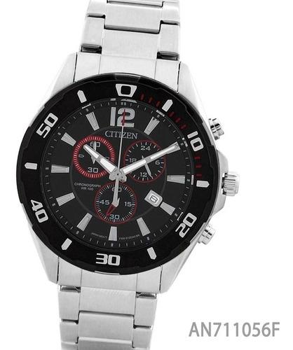 reloj citizen an711056a cronografo acero pvd envio gratis watch fan locales palermo y saavedra