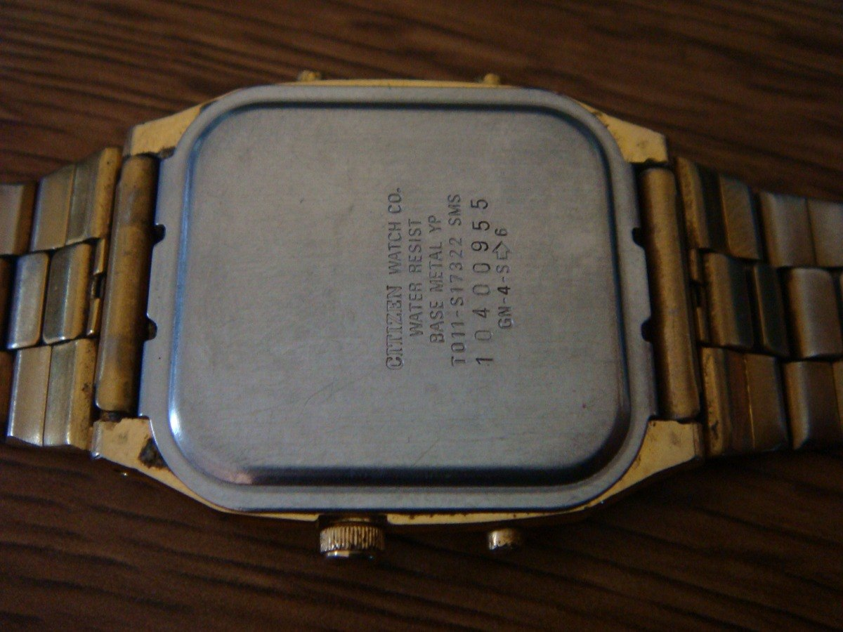 34457b53848 Reloj Citizen Ana-digi. Quartz. Vintage. Colección 80s. -   900.00 ...