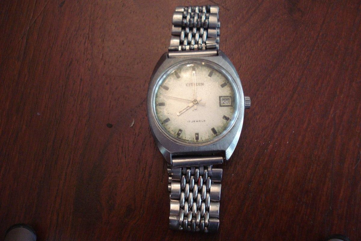 Reloj Citizen Automatico 17 Jewels 800 00 En Mercado Libre # Muebles Rex Hurlingham