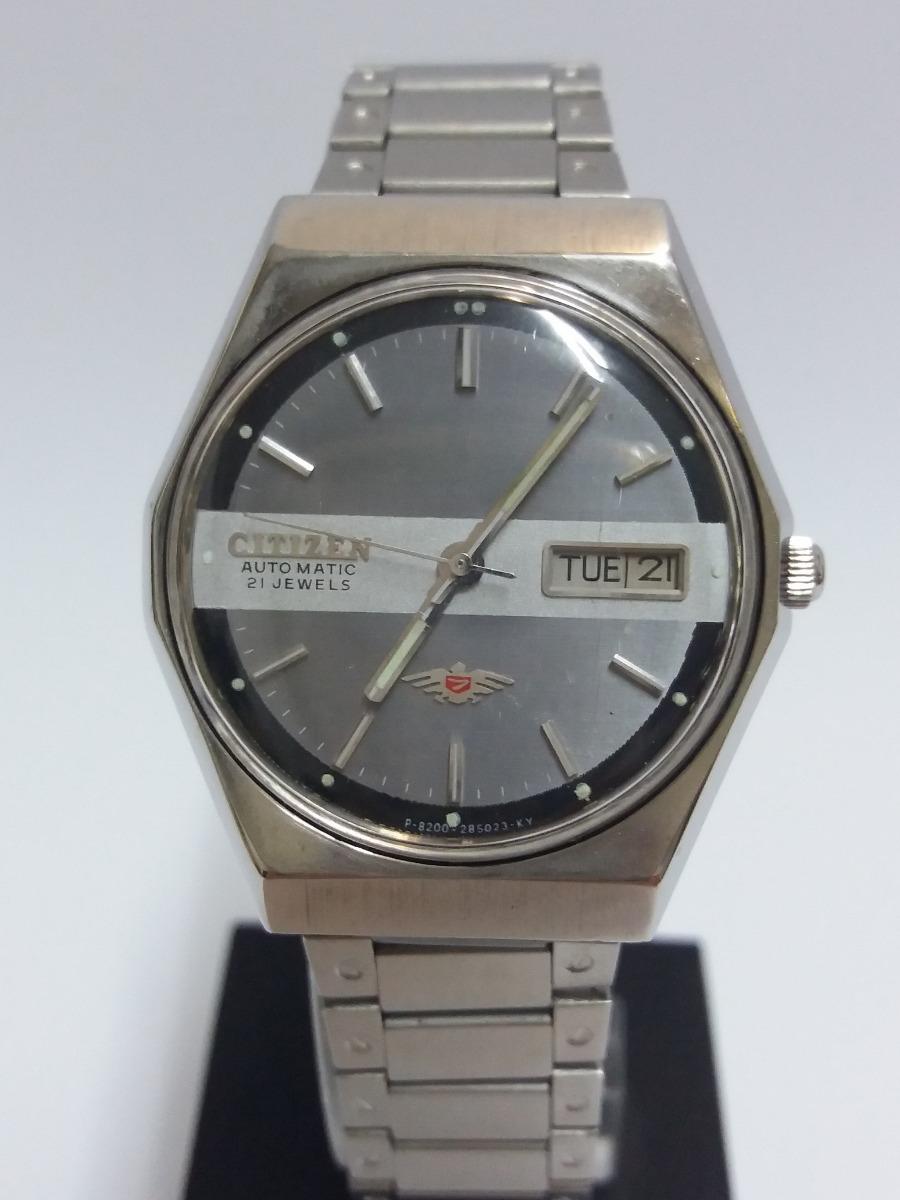 b9e6985c598 Reloj Citizen Automatico Hombre Usado (119) -   55.000 en Mercado Libre
