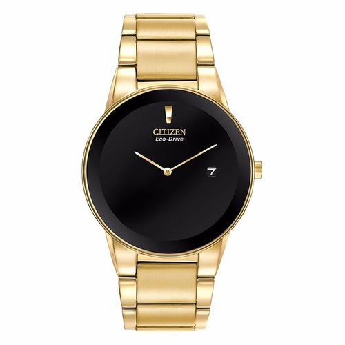 reloj citizen axion gold au1062-56e con fechador
