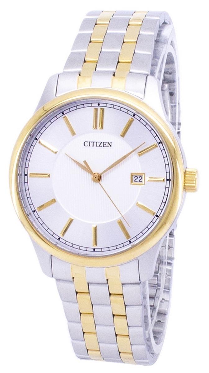 e5f5208152a1 reloj citizen bi1054-55a acero plateado dorado para hombre. Cargando zoom.