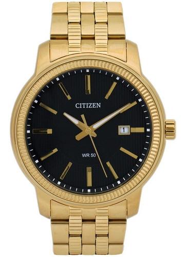 reloj citizen bi1083-57e/p acero dorado wr 50 agente oficial