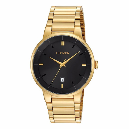 reloj citizen bi5012-53e quartz con fechador