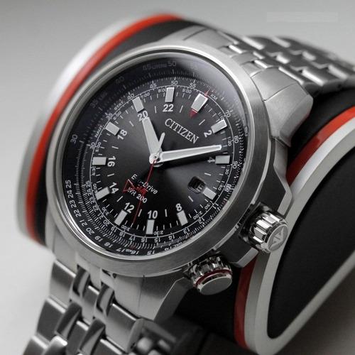 reloj citizen bj707057e ecodrive 200m calculo combustible