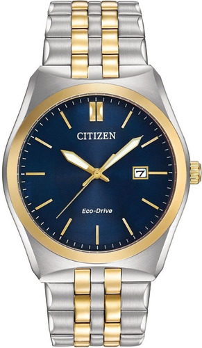 reloj citizen bm733466l eco drive homre sumergible
