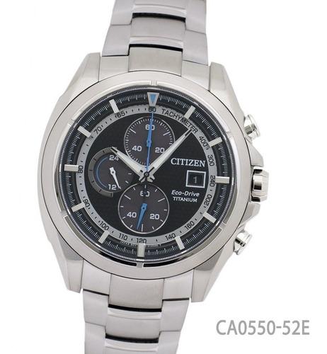 reloj citizen ca055052e l a ecodrive titanio cronografo wr
