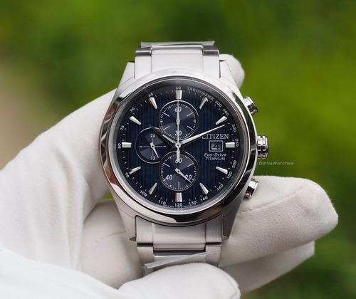 reloj citizen ca0650-82m titanium crono eco-drive zafiro