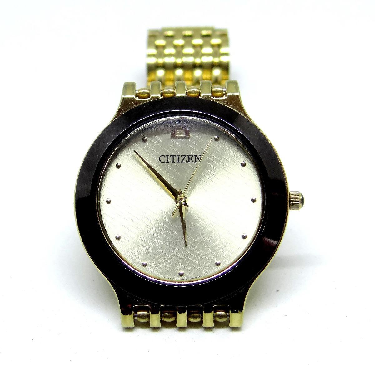 a75f43caa39 reloj citizen caballero colección azteca cristal mineral. Cargando zoom.