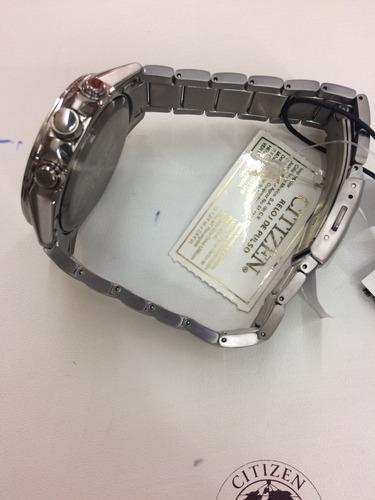 reloj citizen caballero eco drive titanio at2340-56a wr 100m