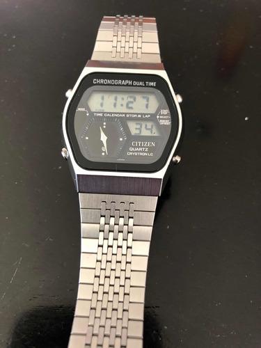 reloj citizen chronograph de 1979