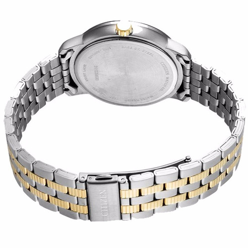 reloj citizen classic bi0984-59a dos tonos con fechador