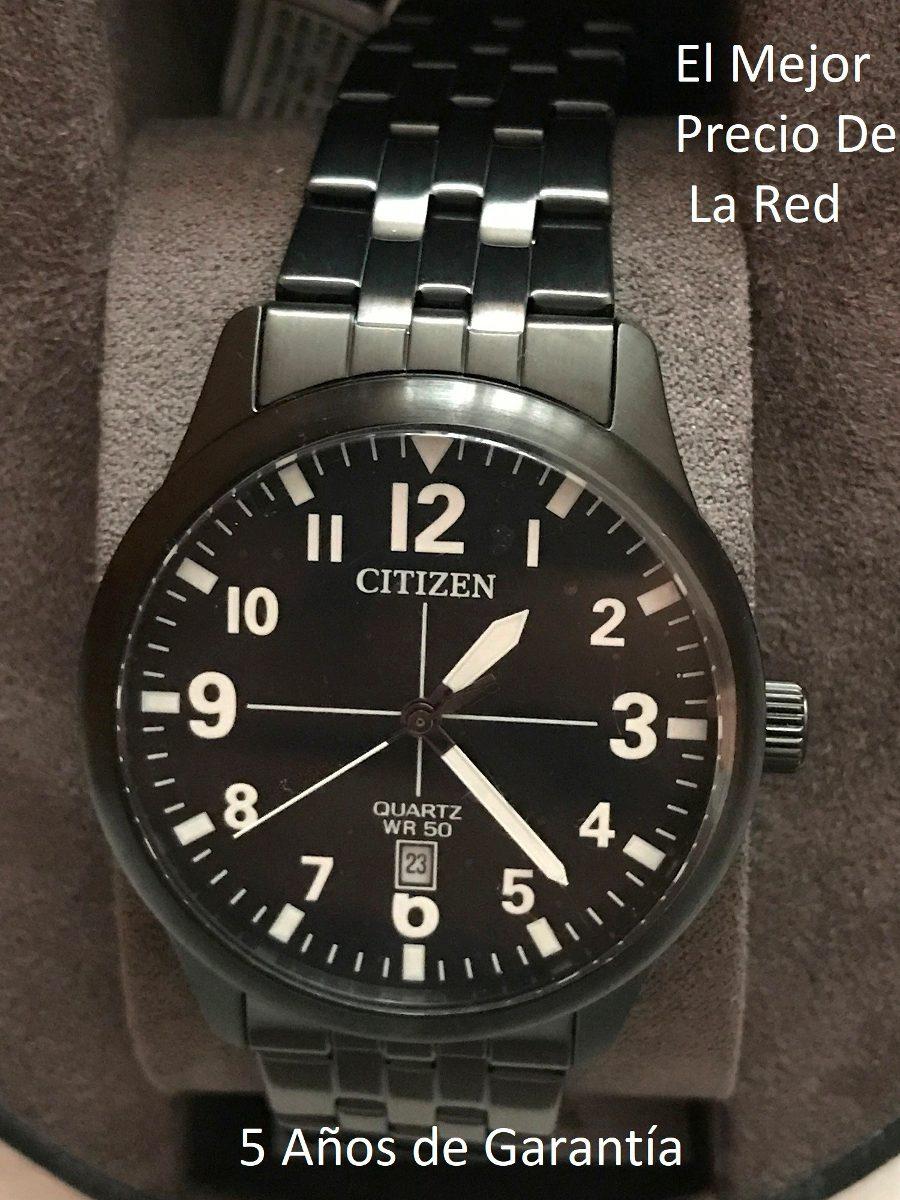 696f72e24859 reloj citizen color negro para caballero bi1055-52e. Cargando zoom.