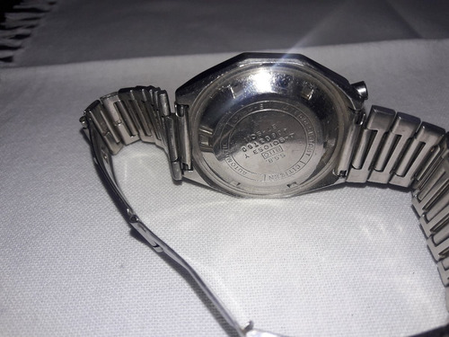 reloj citizen cronografo automatico - bull head - 8110