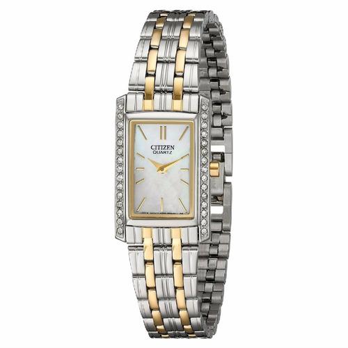 reloj citizen dama acero ek112454d envio gratis ag. oficial