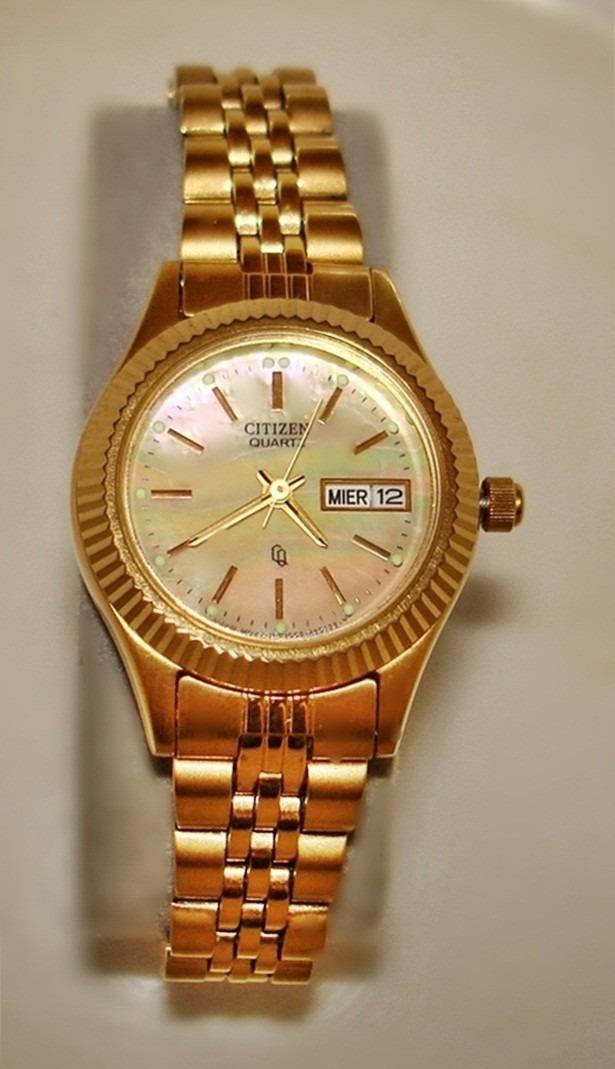 Reloj citizen de dama automatico precio