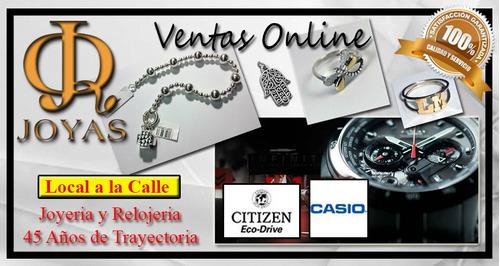 reloj citizen dama em0022-57a eco drive  oficial jr