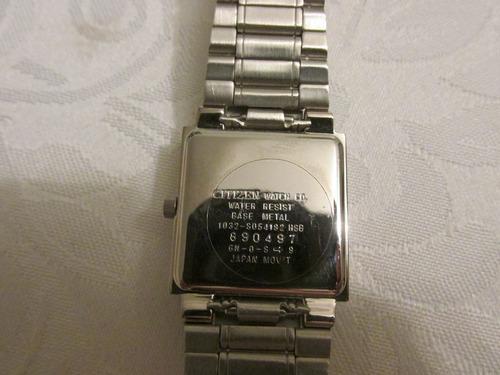 reloj citizen de dama