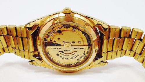 reloj citizen eagle automático para caballero (inv 1621)