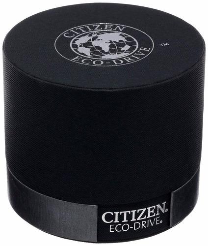 reloj citizen eco-drive acero dorado piel cafe bm8242-08e